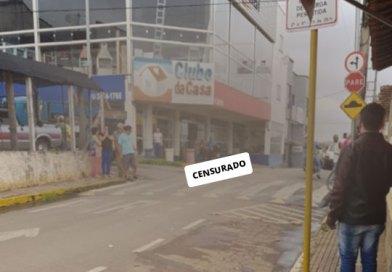 Senhora morre atropelada no centro de Elói Mendes