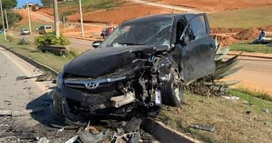 Acidente deixa um morto na BR-491 entre Elói Mendes (MG) e Varginha (MG)