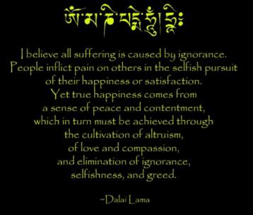 Dalai Lama -true happiness