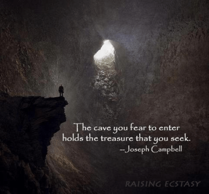 Joseph Cambell -The cave hold the treasure