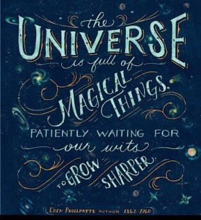 Universe is waiting