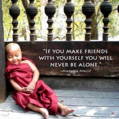 friends with yourself