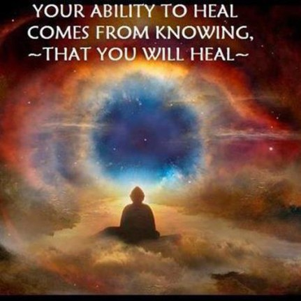 knowing you will heal