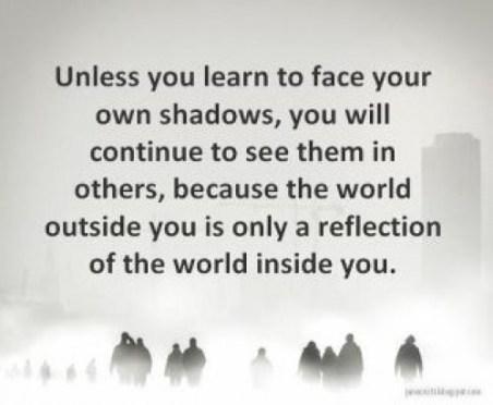 outside reflection of inside