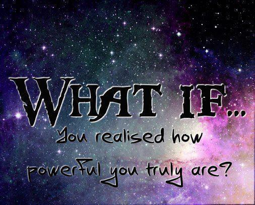 what if you realized