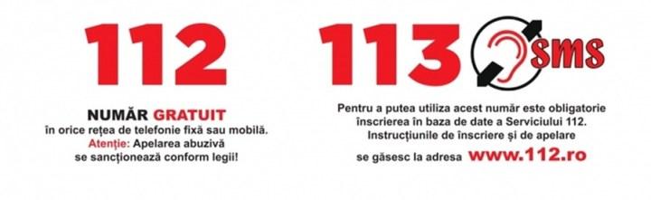 113 numar special de urgente