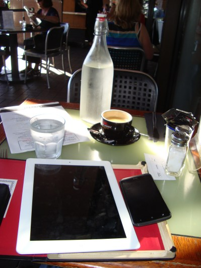 """I booked, iPad, I paid"" - my cafe discovery mantra"
