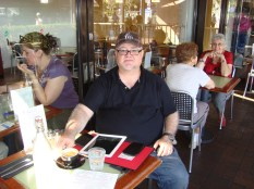 Yours truly - at Rossini's