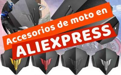 Accesorios baratos para motos de Aliexpress ¿Merecen la pena?