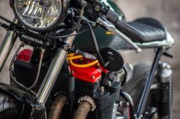 Café Racer 02 Özel Yapım Custom Motosiklet