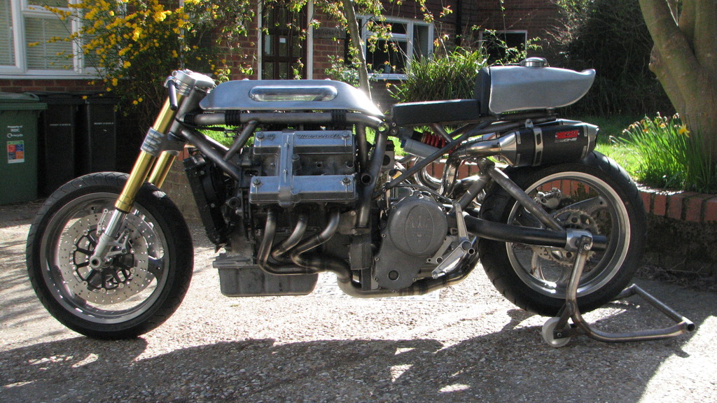 Maserati Barber by Crossbreed Cycles