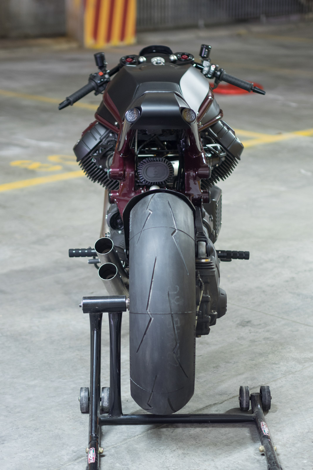 "Moto Guzzi ""Anima Nera"" from Officine Rossopuro"