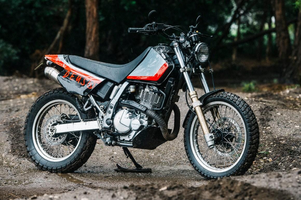 """Suzuki DR650 """"Joe Dirt"""" by Deus Ex Machina"""