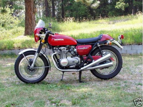 honda cb500 1973 cafe racer AA01