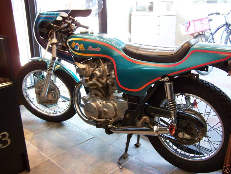 honda cl450 1970 cafe racer AA01