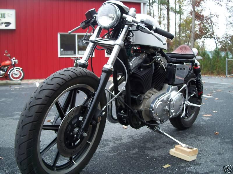 Harley Sportster 1989 Cafe Racer 0012