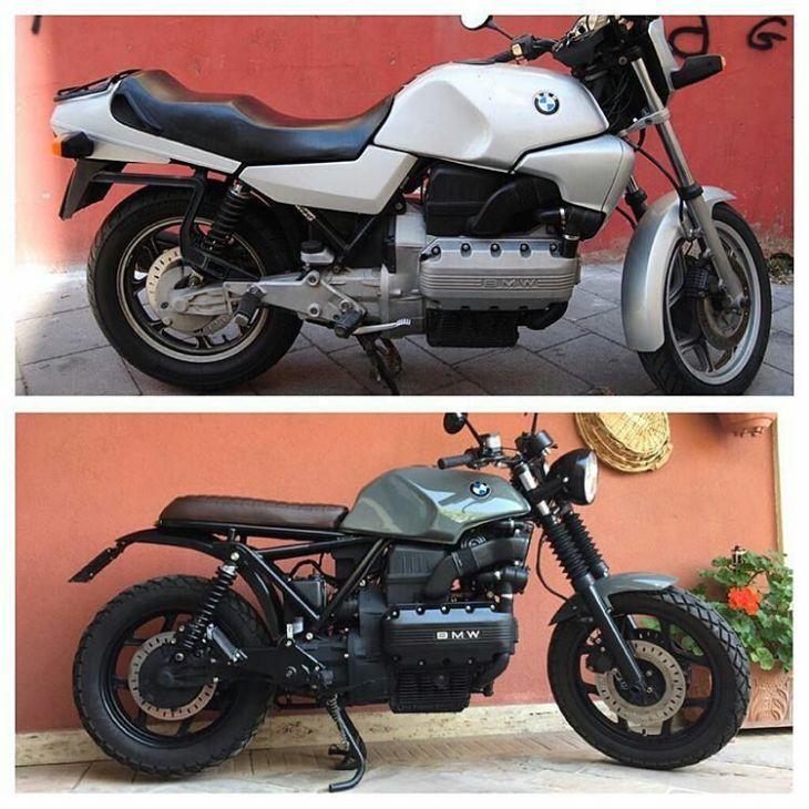 By @kesano - ❤ . #bmw #k100 #caferaceritalia #caferacer #caferacers #caferacerstyle #caferacersculture #caferacerbuilds #vintage #vintagestyle #vintagefashion #motocycle #moto #motos #motorcycles #oldstyle #oldschool #bratstyle #motorbike #motor #helmet