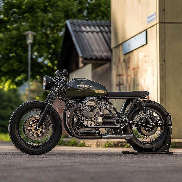 Moto Guzzi 850 T4 by @nctmotorcycles #850
