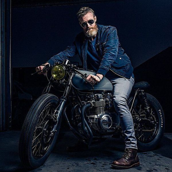 """By @gentsandpirates """"I think best when I have a wrench in my hands"""" – Soichiro Honda .. Shot for @gentsandpirates by @bashermsenfotografie & built by @arjanvandenboom, Ironwood Custom Motorcycles"""