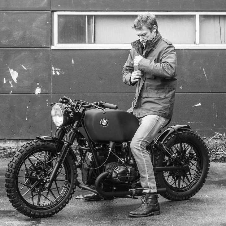 Shot for @gentsandpirates by @arjanvandenboom, Ironwood Custom Motorcycles