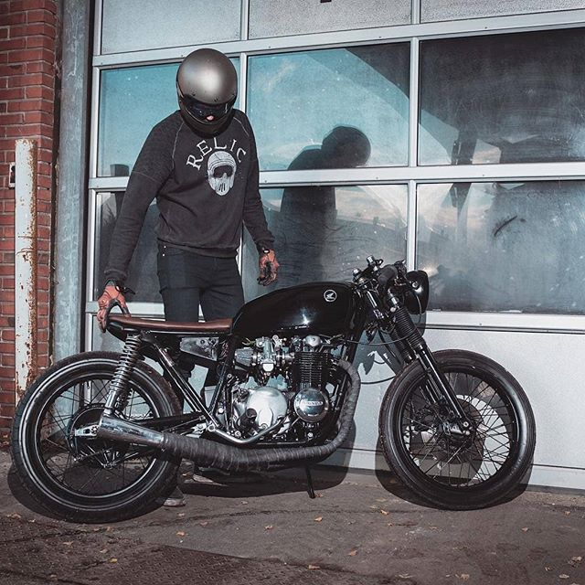 Honda cb 550 by @relicmotorcycles / 📷 @jonas.rask