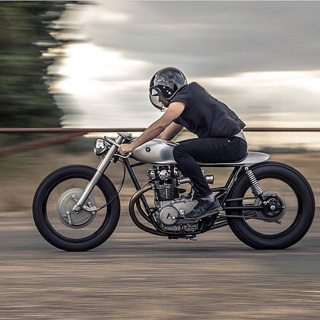 @nickderuijter on a XS 650 by @auto_fabrica