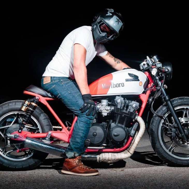 Honda CB 750 by @turbotonybuilds