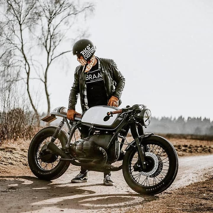 BMW CAFERACER 🏍 @rico_customs / 📷 @marijeee_x_x