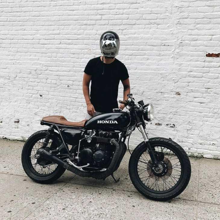 Honda CB500 by @eastofnormal 📷 @missgeoburke