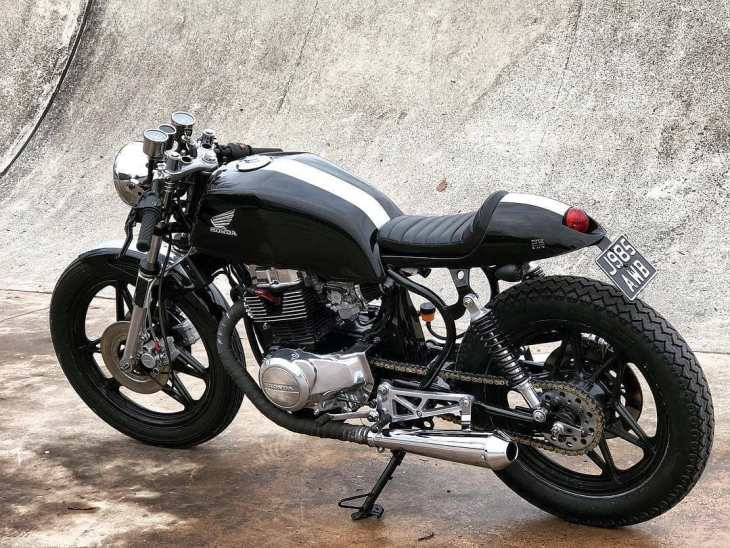 Honda CB 450 by @workhorse92