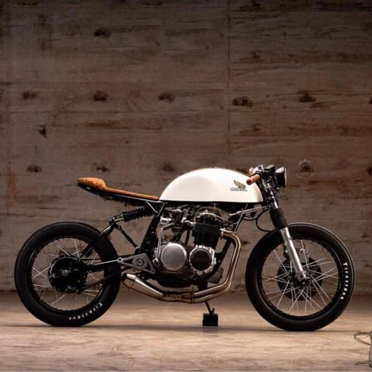 Honda CB500 by @kinetic_motorcycles