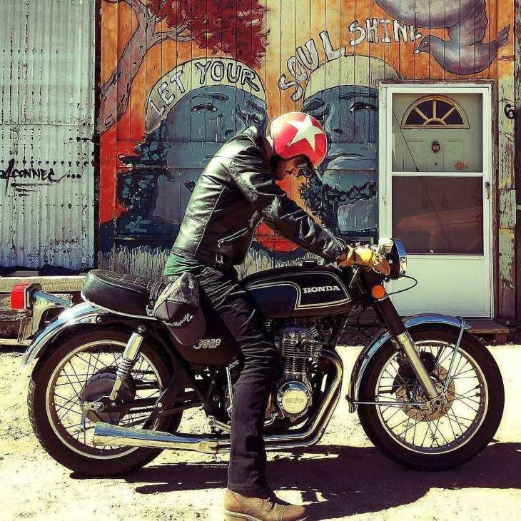 Honda CB350 Four By @boulderstreetmoto