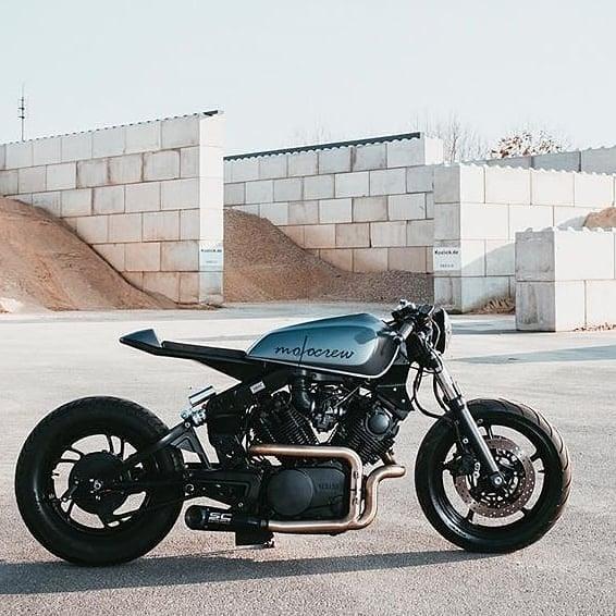 Yamaha XV920 by @motocrew.caferacer