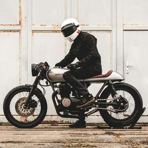 Honda CB500 Cafe Racer by @kaspeed.moto