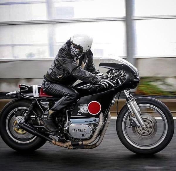 YAMAHA XS650 by @anbucustommotors
