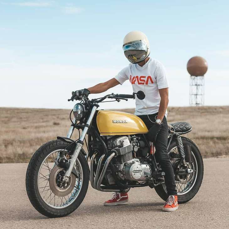 Honda CB750 by @moneebnain