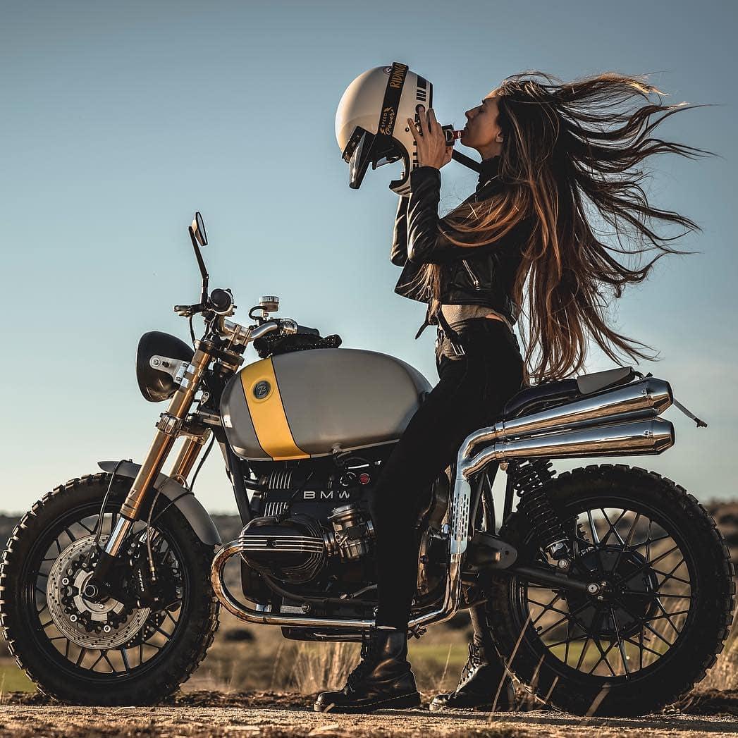 @eguiraun on a BMW r65 🛠️by @72_cycles_performance / 📷 @diego_bermu