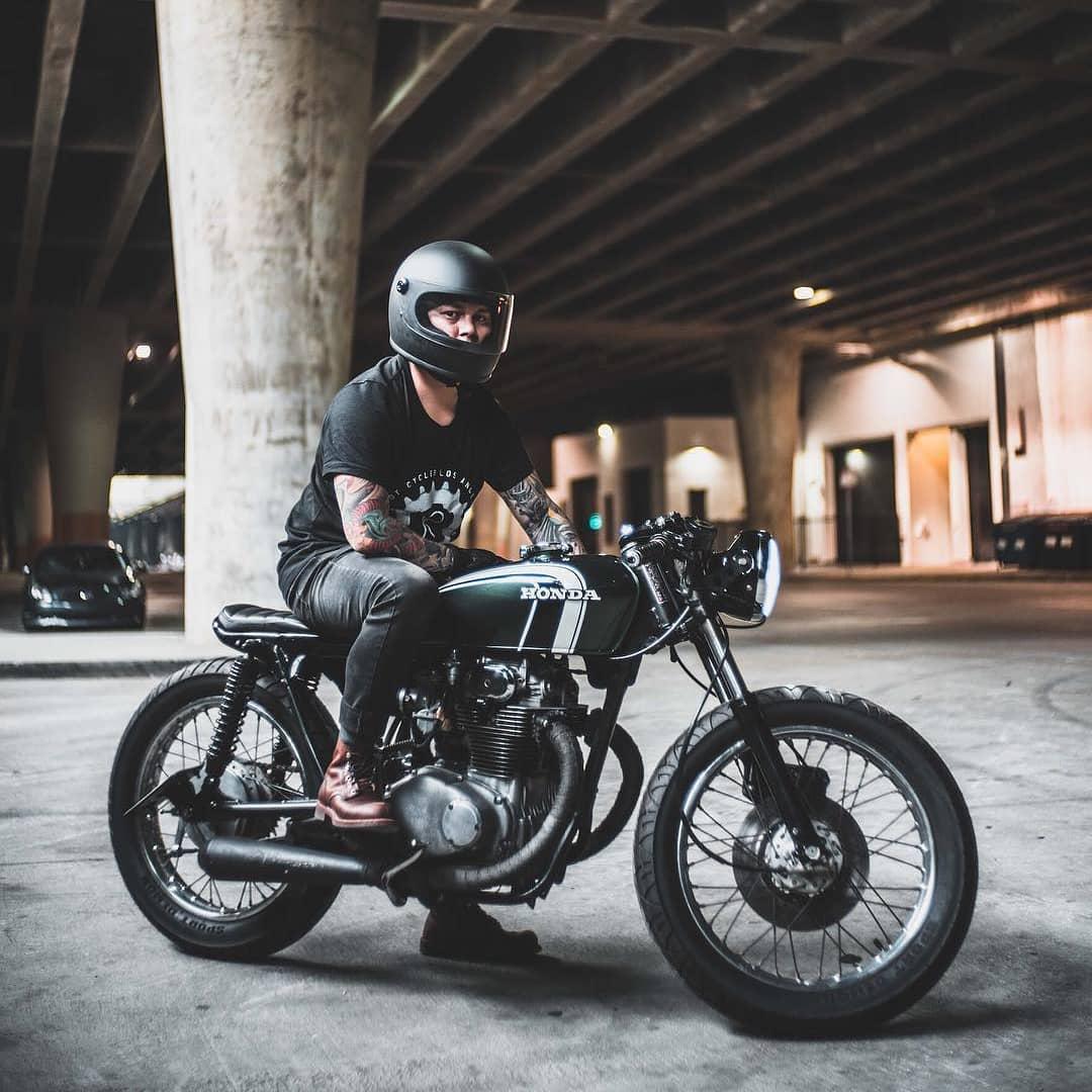 Honda CB350 🛠️ by @riotcycles /  @al.drin