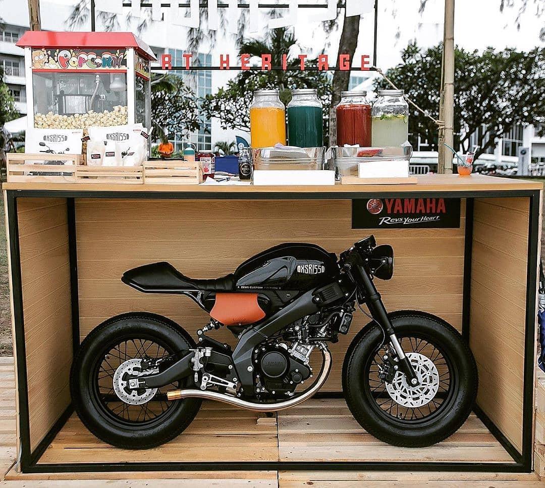Yamaha XSR 155 by @zeuscustom