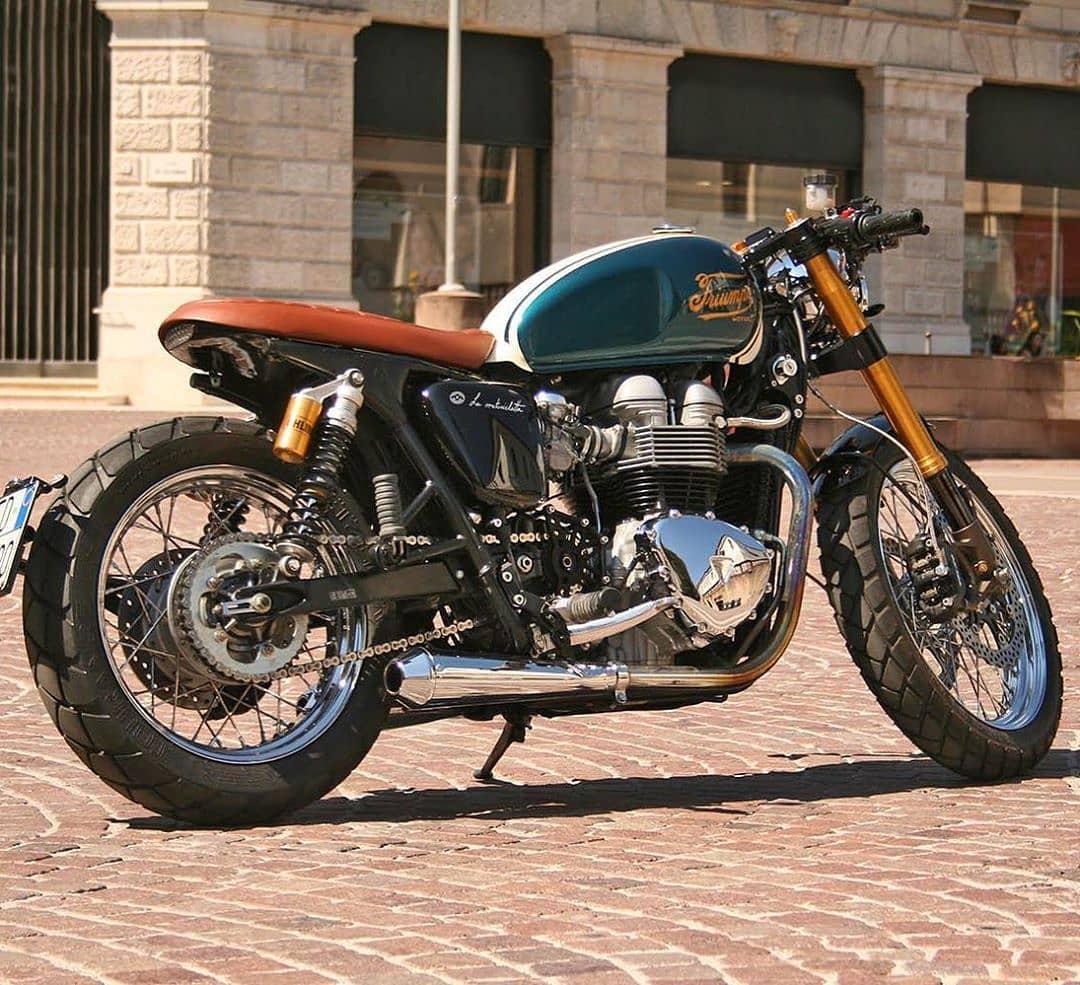 Triumph Bonneville T100 by @la_motocicletta