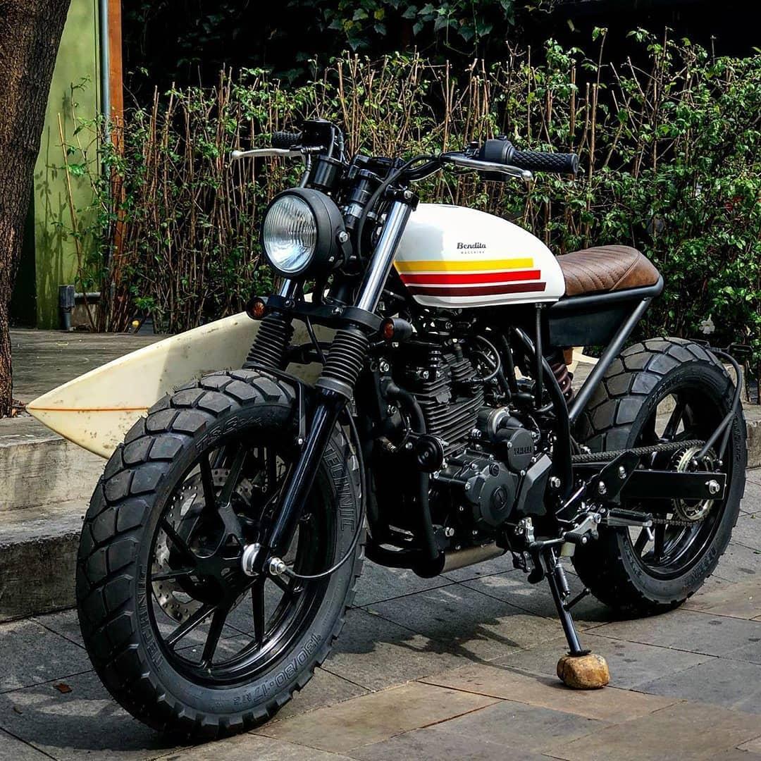 Yamaha 250cc by @benditamacchina