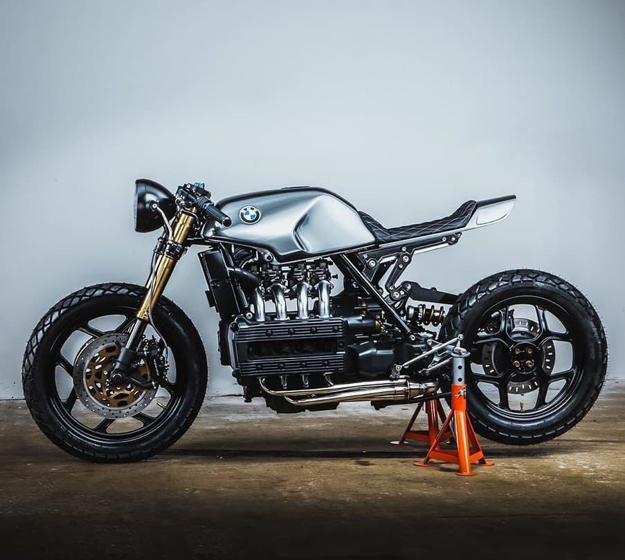 BMW K100 by @spitfirespeedshop 📸: @reel_rebellion