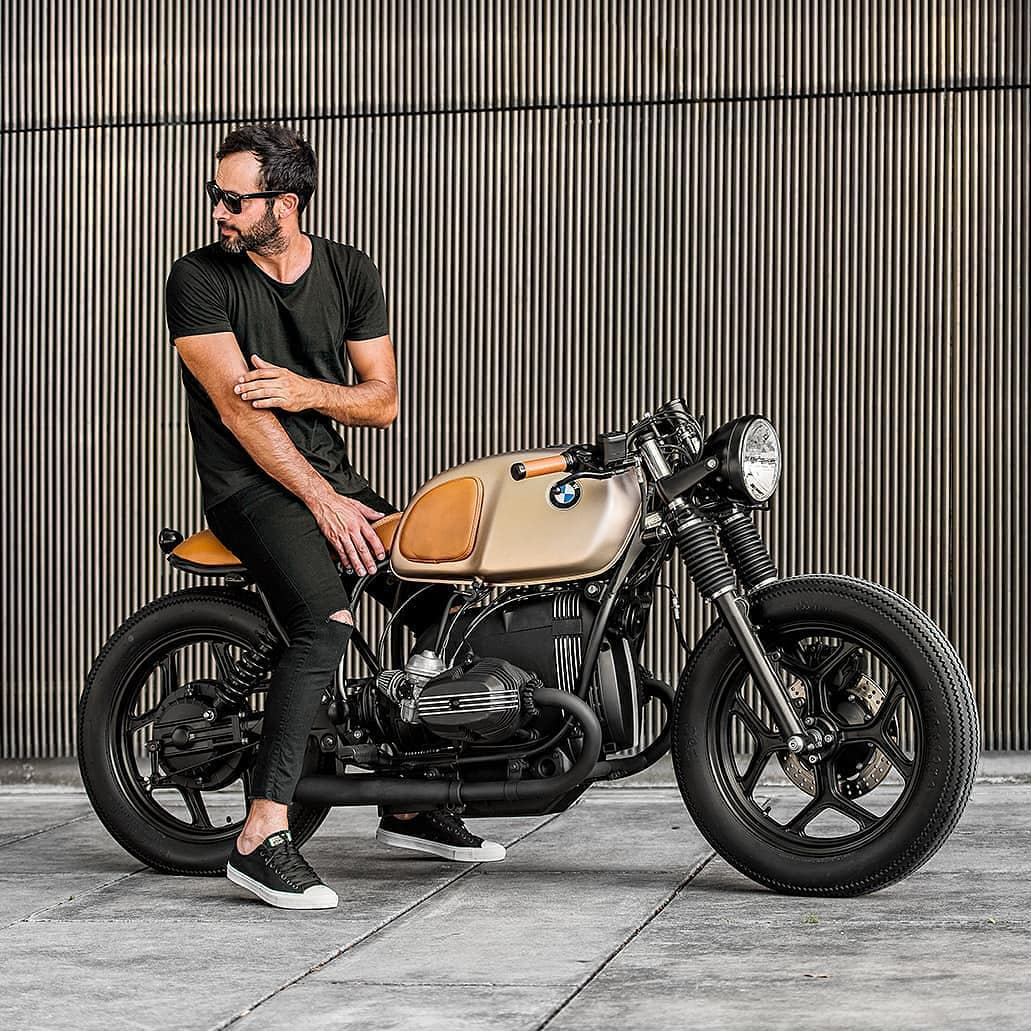 BMW R80 by @banditgarageportugal