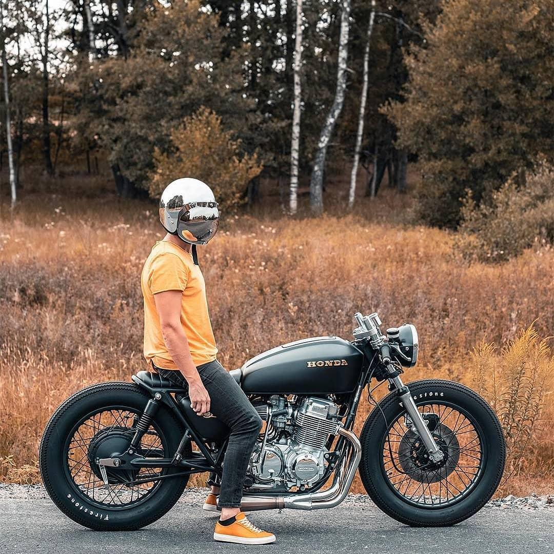Honda CB750 by @juhawalks 📸: @sg.andersson