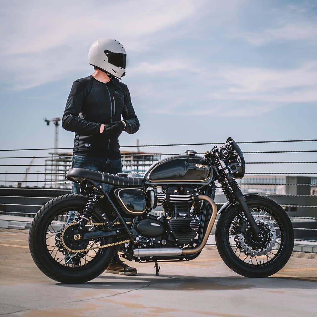 Triumph T120 by @kn1ckster
