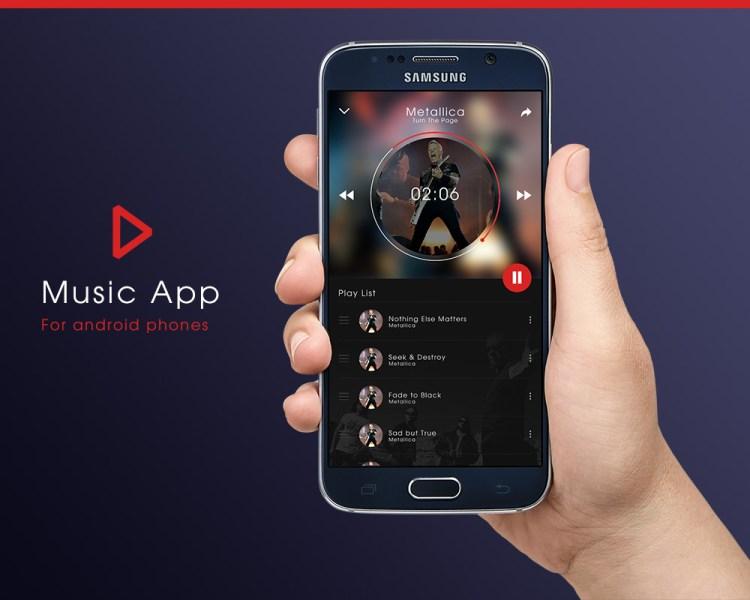 music-app-mockup