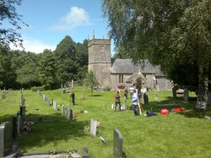 Archaeological Survey at St Andrew's Church, Holcombe, Somerset