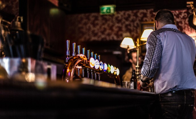 Pub in Soho, by Davide D'Amico