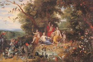 Jan Brueghel the Younger and Hendrick van Balen, An Allegory of the Four Elements