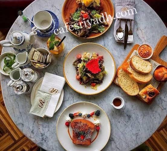 مطاعم فطور في الرياض جلسات خارجية